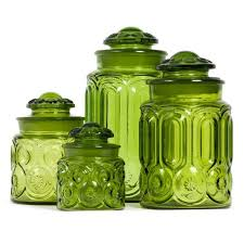 colored glass kitchen canisters 121 best canister sets images on kitchen canisters