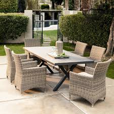 outdoor wicker dining table resin wicker outdoor furniture wicker table round wicker chair white