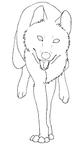 Wolf Coloring Pages Anime How To Draw Cat Girls Step By Car Wolf Pack Coloring Pages