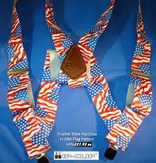 American Flag Suspenders Hipclip 2 Flag2 Jpg