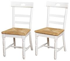 briana dining chair set of 2 farmhouse dining chairs by tms