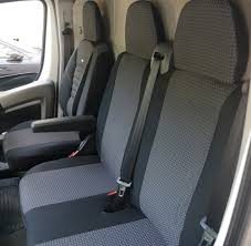 seat covers volkswagen crafter rhd for drivers seat and bench