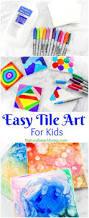 easy tile art for kids that everyone will enjoy easy tile