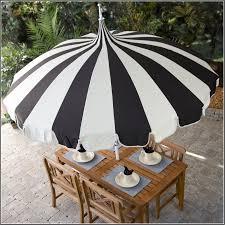 Black And White Patio Umbrella Black And White Garden Patio Umbrellas Decorating 2716