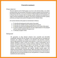 template for summary report 5 sle executive summary report parts of resume