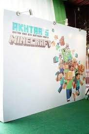 minecraft backdrop 14 best minecraft gifts favors images on minecraft