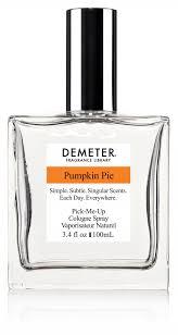 pumpkin pie demeter fragrance library