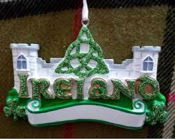 Christmas Decorations Online Ireland by Irish Ornament Etsy