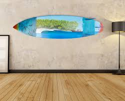 wall art ideas design printable picture surf board wall art