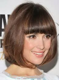 layered bob with bangs pictures of short bob hairstyles with