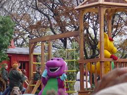 barney u0026 friends macy u0027s thanksgiving day parade wiki fandom