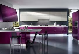 bathroom lovely kitchen with white and purple nuance plus