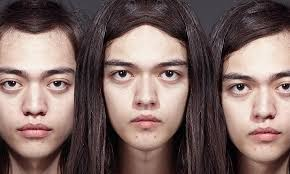 see what you would look like with different color hair perfect symmetry how would you look if both sides of your face