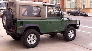 land rover truck for sale 1994 land rover defender 90 conniston green for sale youtube