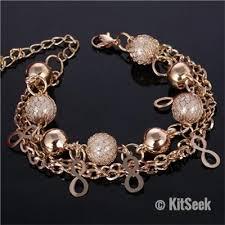 woman bracelet images Gold heart and pearl design bracelet bangles for woman kitseek jpg