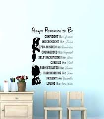 words for walls decor removable wall quotes wood words wall decor