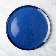 blue dinnerware cb2