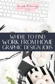 Where To Find Online Graphic Design Jobs To Work From Home - Graphic designer jobs from home