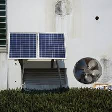 dc house solar powered attic ventilator