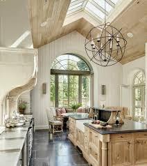 cuisine en bois clair 45 idées en photos pour bien choisir un îlot de cuisine