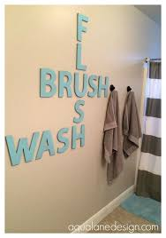 Wall Decor Bathroom Ideas Best 20 Kid Bathroom Decor Ideas On Pinterest Half Bathroom