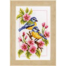vervaco four seasons cross stitch kit 4 pack hobbycraft