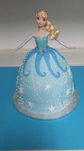 frozen princess elsa doll cake cakecentral com