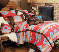 red ranch aztec bedding set southwestern bedding dream home