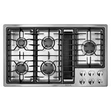 Downdraft Cooktops Jenn Air Jgd3536ws 36 Gas Downdraft Cooktop Sears Outlet