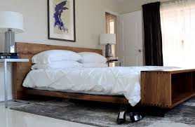 Midcentury Modern Bedding - bedroom modern bedding sets sleigh bed modern platform bed