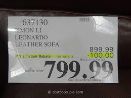 simon li leather sofa costco sofa design simon li leather sofa costco reviews hunter 24