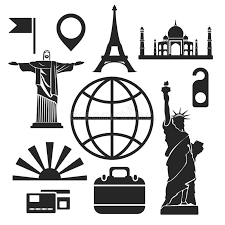 New York travel web images Travel web and mobile icons vector stock vector image 49380403 jpg