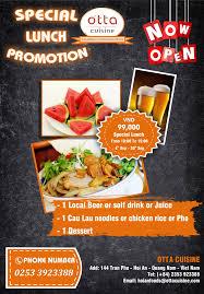 cuisine promotion promotion