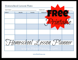 homeschool schedule template template design