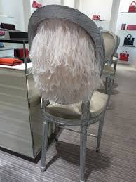 Closet Chairs Christian Dior Feather Backed Chair Your Boutique Closet Pinterest