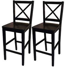Black And White Bar Stool Mainstays 29