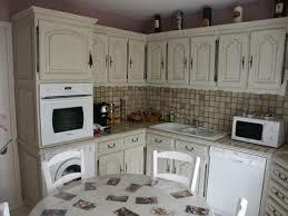 cuisine rustique repeinte en gris cuisines repeintes déco peinture nadine