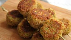 cuisiner le poivron vert croquettes de poivron vert courgette et flocons d avoine