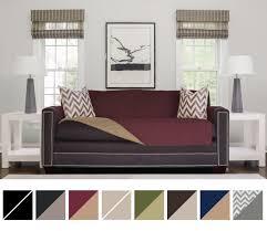 amazon com the original sofa shield reversible couch slipcover