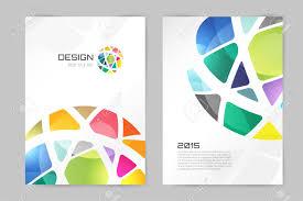 home design abstract brochure or flyer design template book