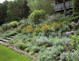 Slope Landscaping Ideas For Backyards Retaining Wall Hillside For Garden Small Landscaping Ideas For