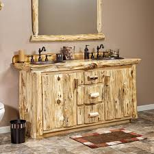 Real Wood Vanities 102 Best Rustic Bathroom Ideas But No Toilet Paper Made Out Of