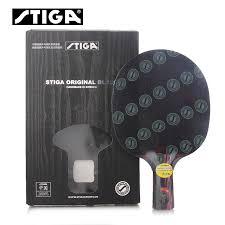 stiga pro carbon table tennis racket stiga hybrid wood nct table tennis blade 9 8 carbon ply racket