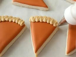 mini pumpkin pie slice cookies the sweet adventures of sugar