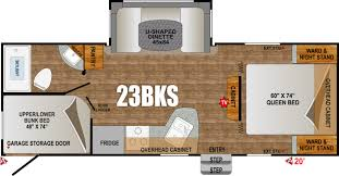 20 Foot Travel Trailer Floor Plans Orv Black Rock