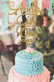 add elegance to your cakes u2013 glitter cake toppers ocean blue design