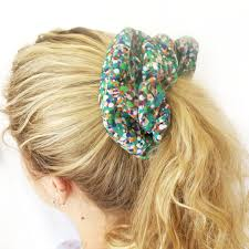 hair scrunchie watermelon hair scrunchy pink watermelon hair scrunchies retro