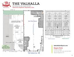 retail space floor plans available retail spaces on ballard ave nw seattle u0027s great