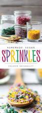 vegan sprinkles diy sugar free recipe