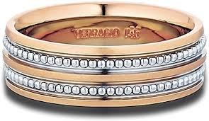 wedding band men verragio gold men s wedding band mv 7n03